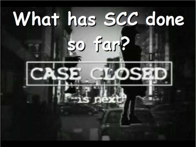 SCC Panel content 1011