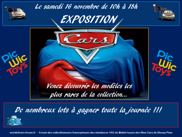 Episode V : Exposition Cars Pic Wic Toys le 16 novembre 2019 près de Nantes Affich10