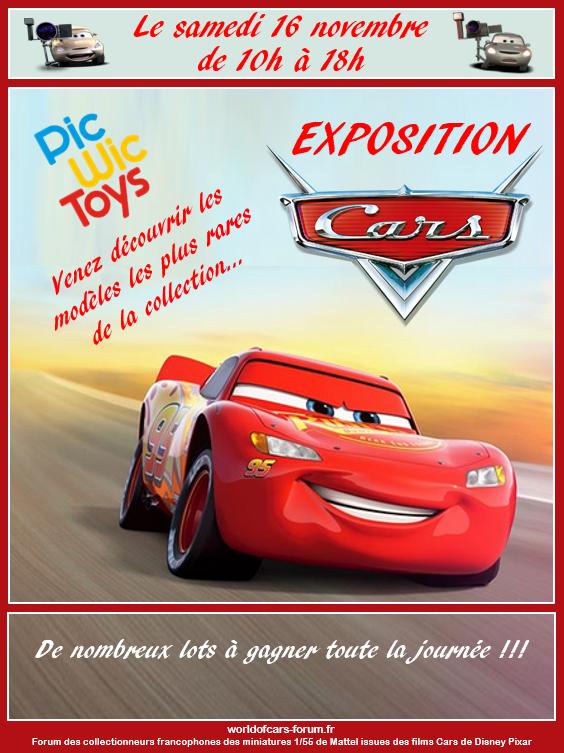 Episode V : Exposition Cars Pic Wic Toys le 16 novembre 2019 près de Nantes Affich11