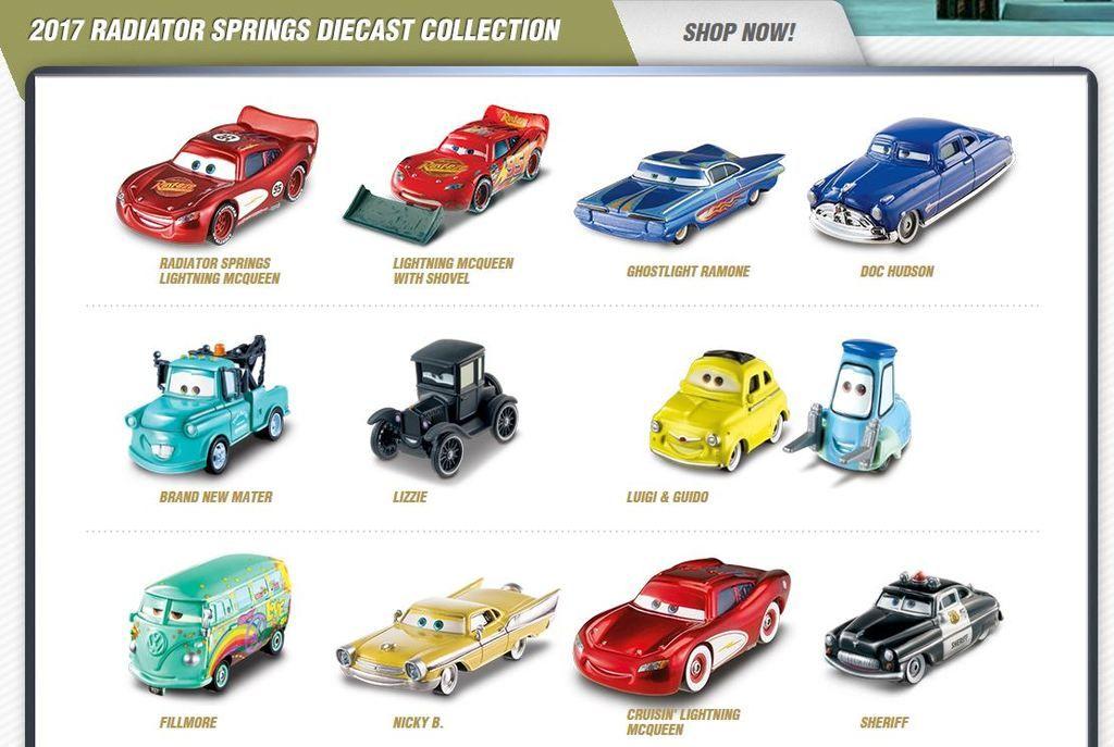 Quelles sont les Cars manquantes dans la serie Cars 2017  - Page 2 Captur12