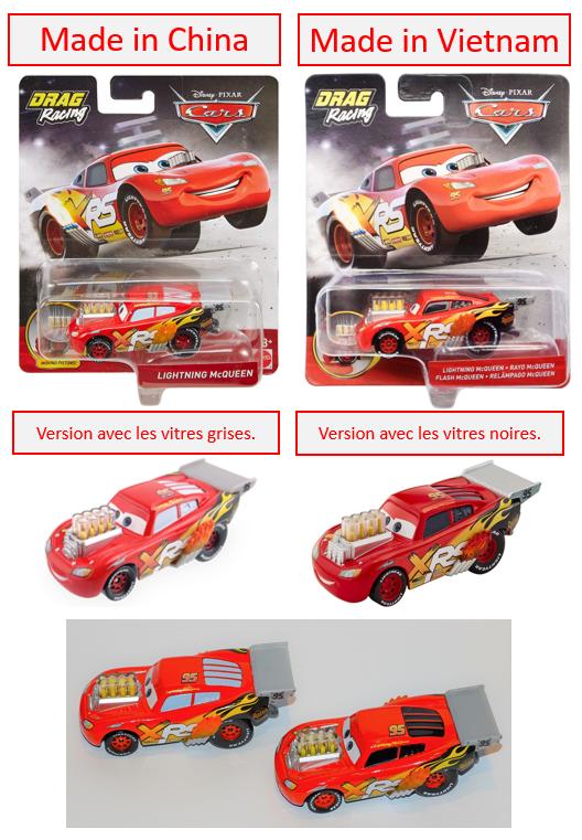 Les variantes des miniatures de Cars 3... la spécialité de Mattel !  Drag_r10