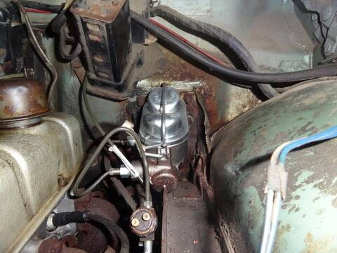 Front disc brake conversion (Scarebird)