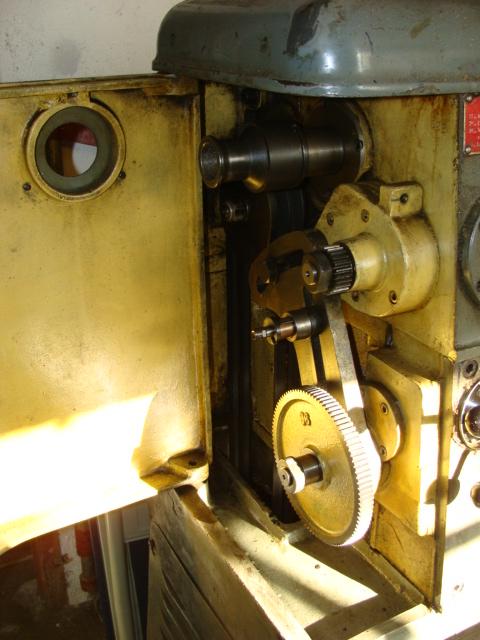 réparation pignon de lyre tour Ernault Battignole Dsc01613