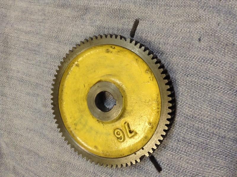 réparation pignon de lyre tour Ernault Battignole Img_0510