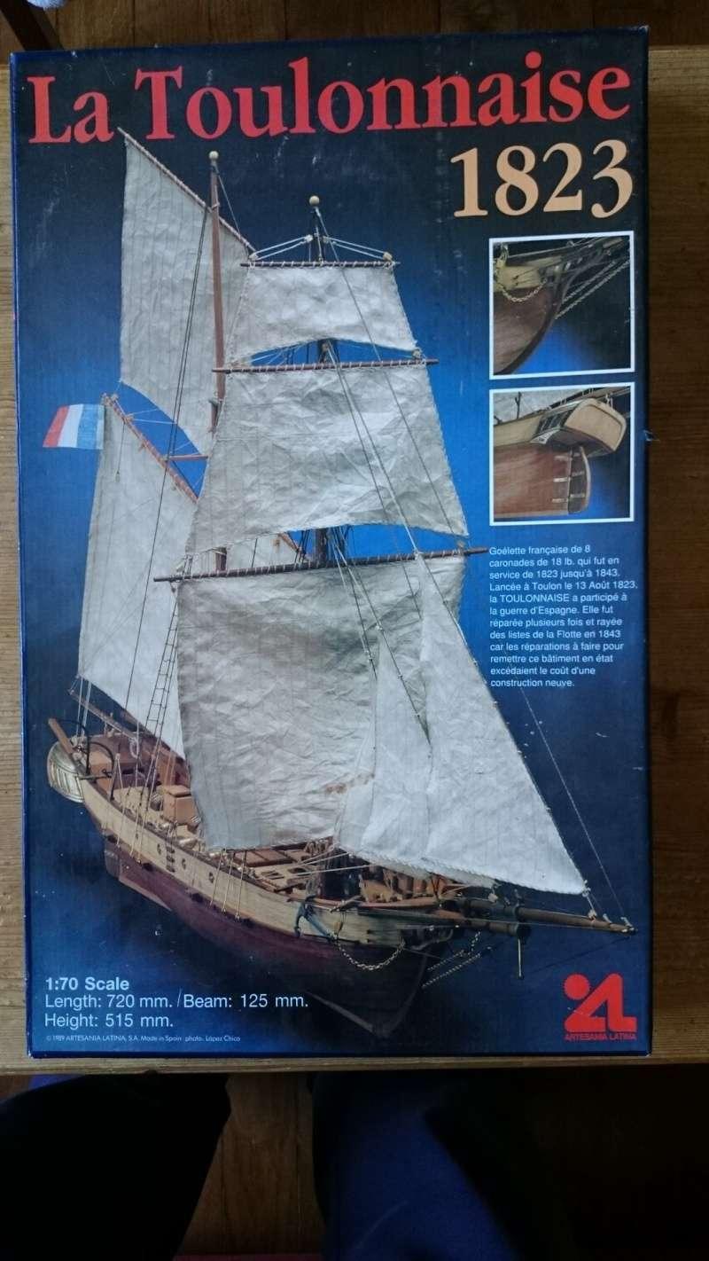 La Toulonnaise 1823 au 1/70ème d'Artesania Latina 2015_110