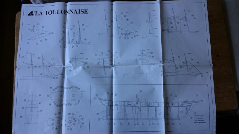 La Toulonnaise 1823 au 1/70ème d'Artesania Latina 2015_310