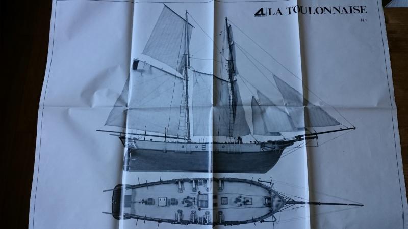 La Toulonnaise 1823 au 1/70ème d'Artesania Latina 2015_610