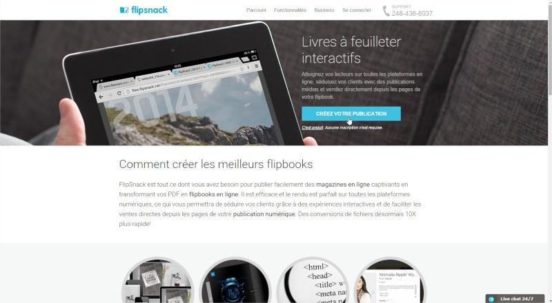Comment partager un pdf en ligne, en faire un magazine à feuilleter... Flipsn10