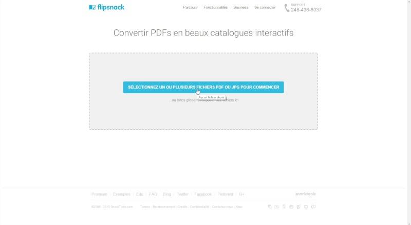 Comment partager un pdf en ligne, en faire un magazine à feuilleter... Flipsn11