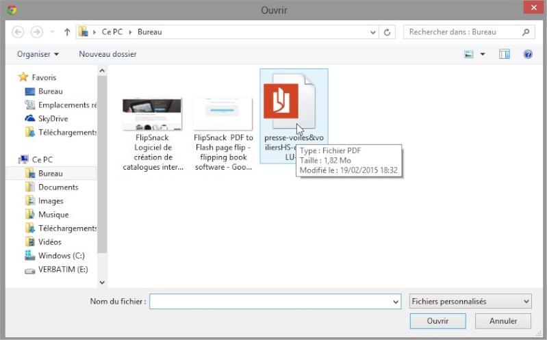 Comment partager un pdf en ligne, en faire un magazine à feuilleter... Ouvrir10