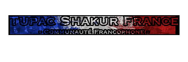 Tupac Shakur France
