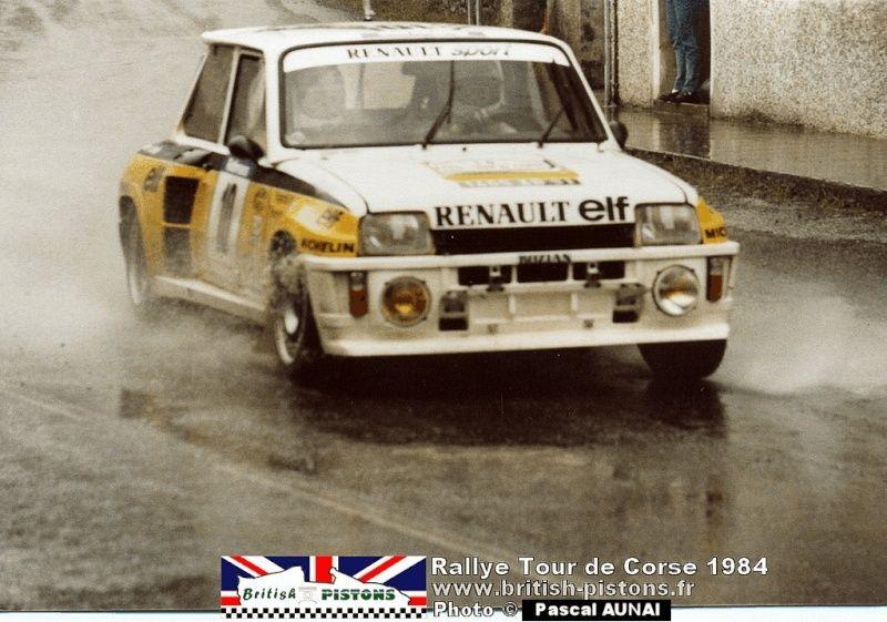 renault R5 turbo tour de Corse 1984 Divers10