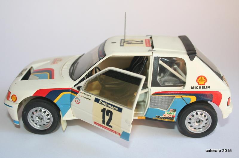 Peugeot 205 t16  Maque103
