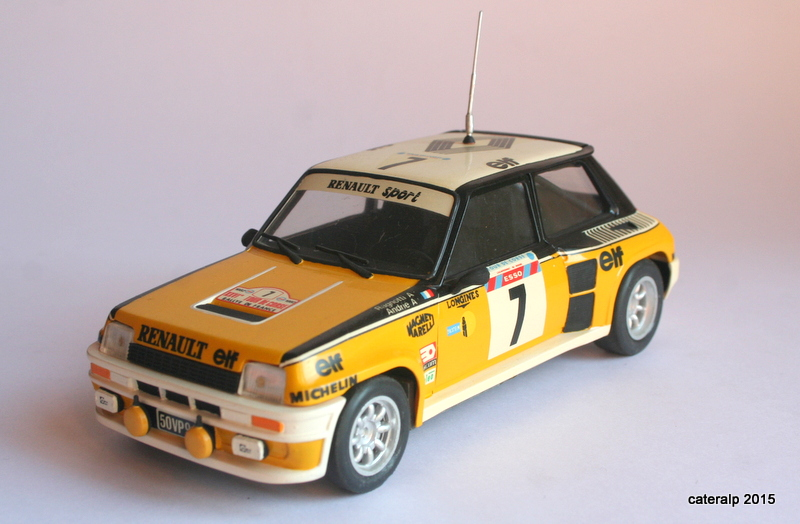 renault R5 turbo tour de Corse 1982 Maque105