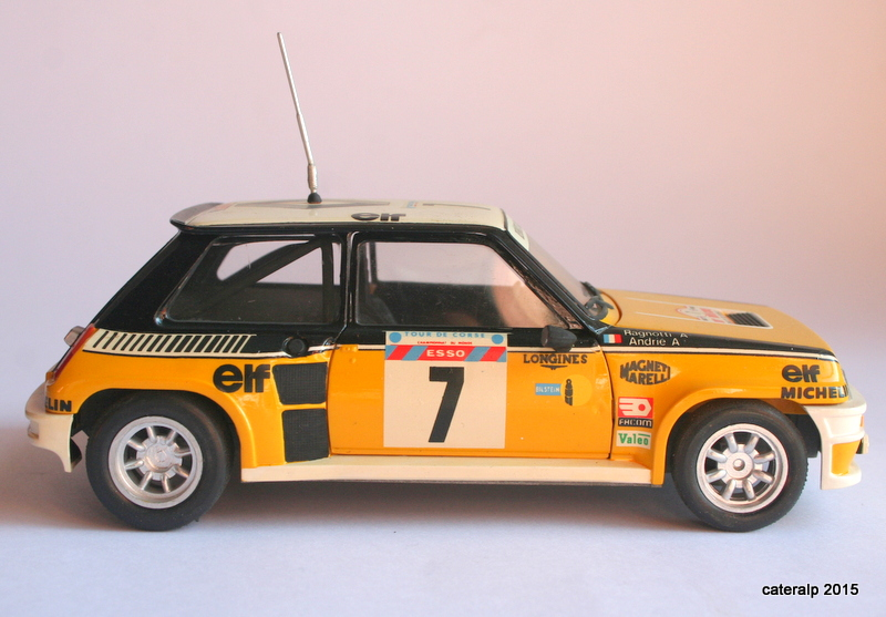 renault R5 turbo tour de Corse 1982 Maque107