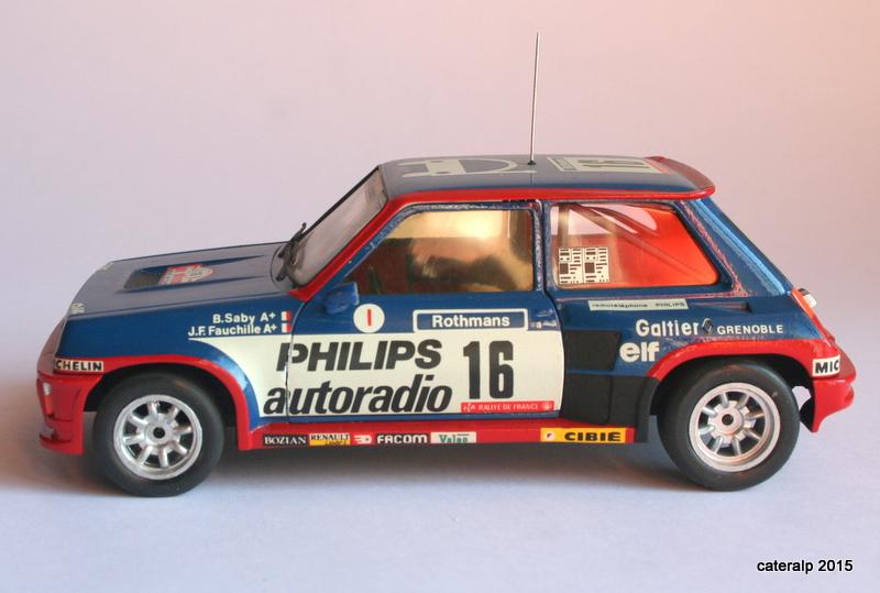 renault R5 turbo tour de Corse 1984 Maque109