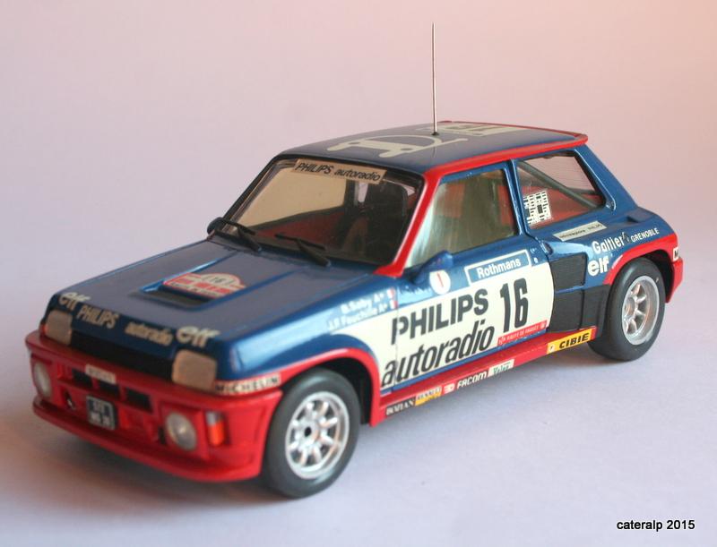 renault R5 turbo tour de Corse 1984 Maque110
