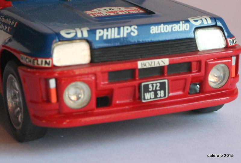 renault R5 turbo tour de Corse 1984 Maque111