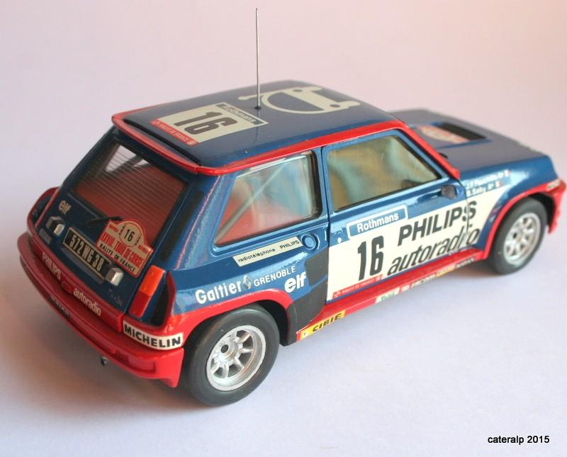 renault R5 turbo tour de Corse 1984 Maque112
