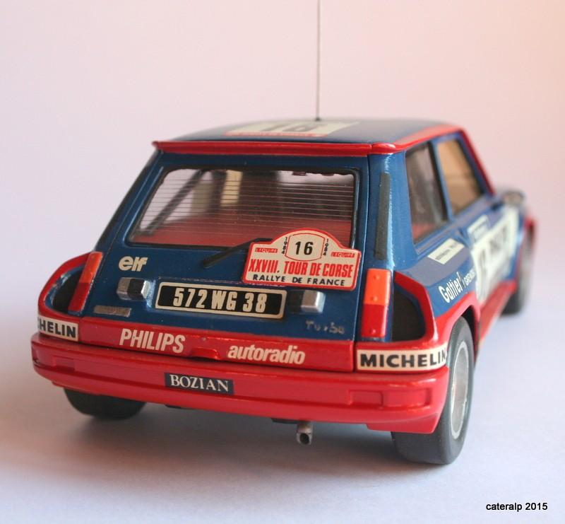 renault R5 turbo tour de Corse 1984 Maque113