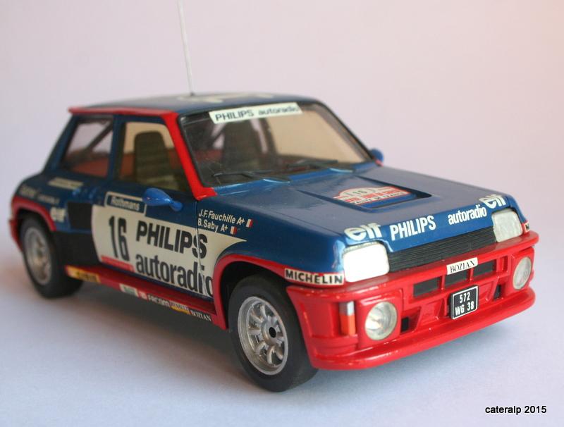 renault R5 turbo tour de Corse 1984 Maque114