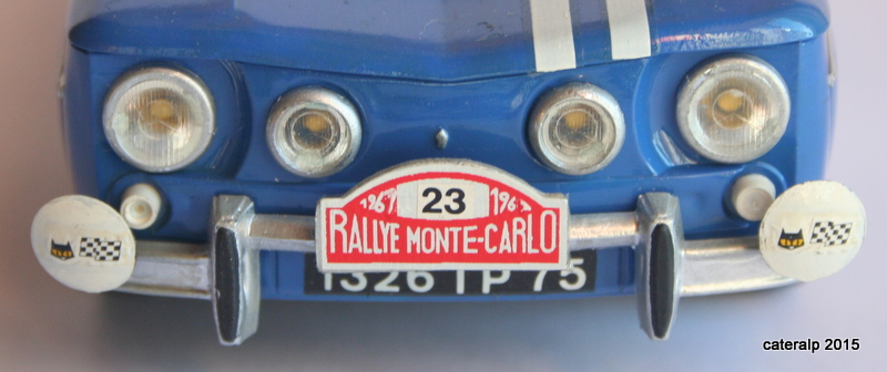 RENAULT R8 GORDINI  Maquet48