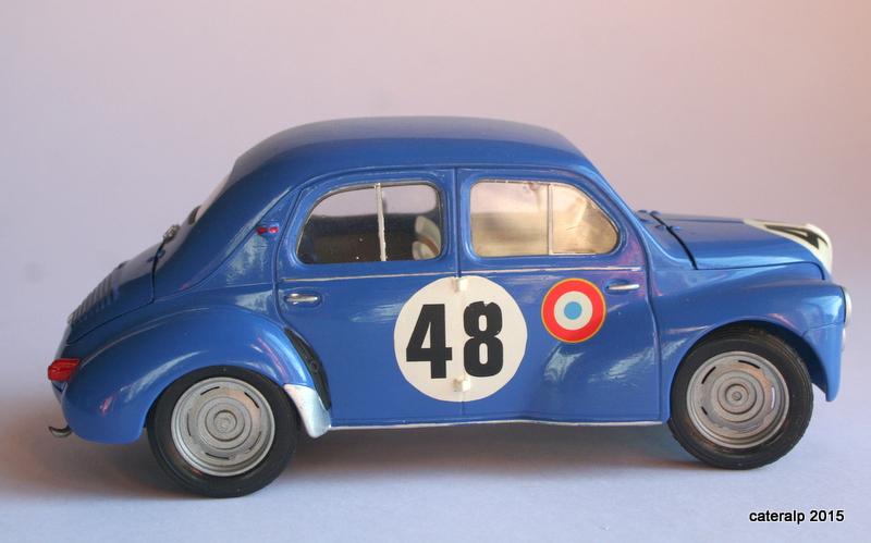 Renault 4CV Le Mans 1950 Maquet78