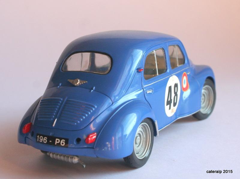 Renault 4CV Le Mans 1950 Maquet79