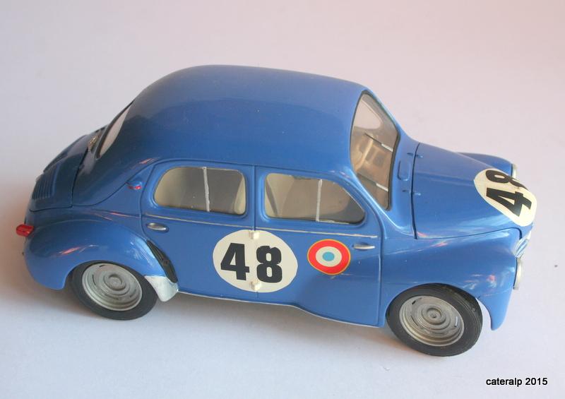 Renault 4CV Le Mans 1950 Maquet80