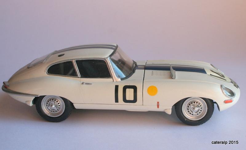 Jaguar type E Le Mans 1962  Maquet87