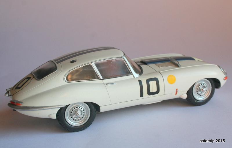 Jaguar type E Le Mans 1962  Maquet89