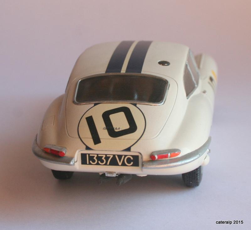 Jaguar type E Le Mans 1962  Maquet90