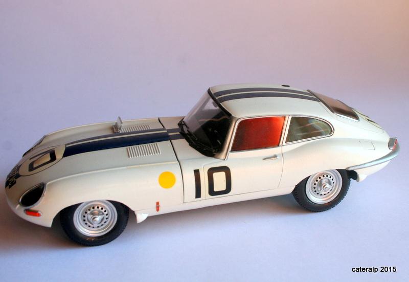 Jaguar type E Le Mans 1962  Maquet91