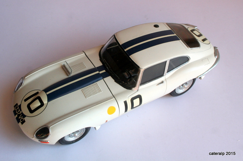Jaguar type E Le Mans 1962  Maquet92