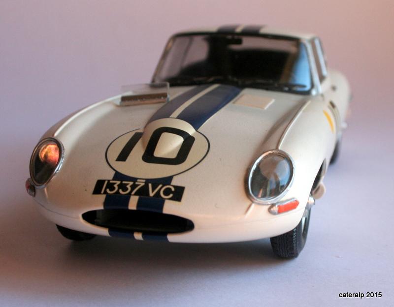 Jaguar type E Le Mans 1962  Maquet93