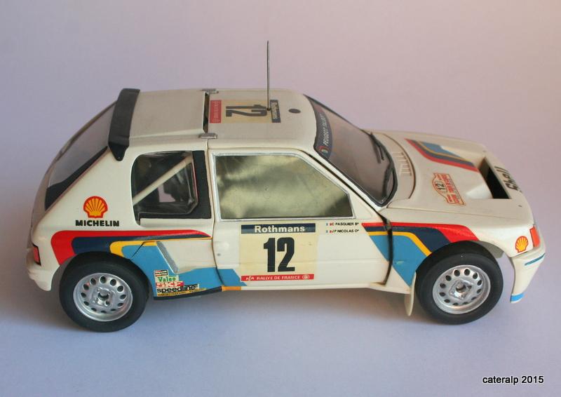 Peugeot 205 t16  Maquet95