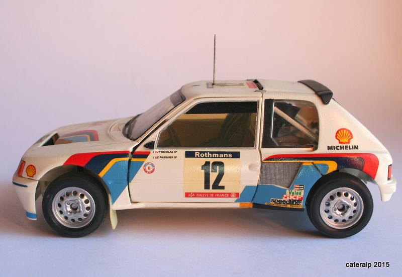 Peugeot 205 t16  Maquet98