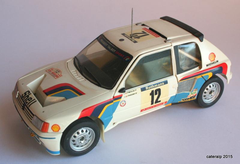 Peugeot 205 t16  Maquet99