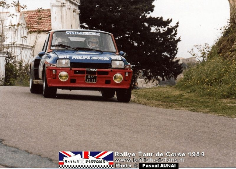 renault R5 turbo tour de Corse 1984 Tour-d10