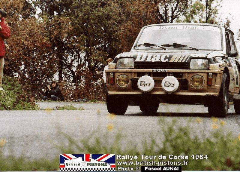 renault R5 turbo tour de Corse 1984 Tour-d11