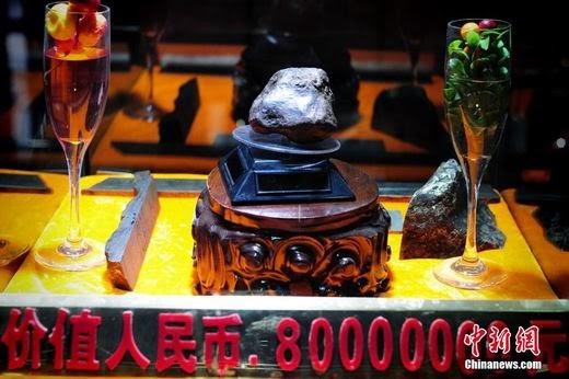 Un fragment de météorite pour 80 millions de yuans  0019b910