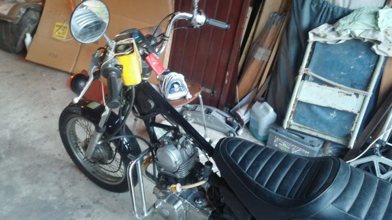 Cafe Soluble - 125 SR 1988- 3000 km !  Moto2_11