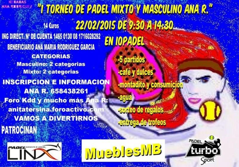 I TORNEO DE PADEL MIXTO Y MASCULINO 10926210