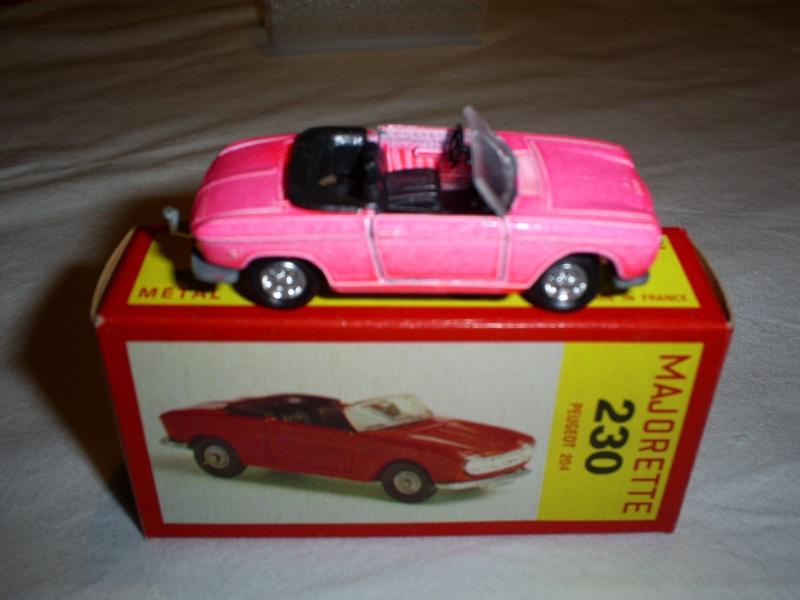 N°230 Peugeot 204 cabriolet S5033164