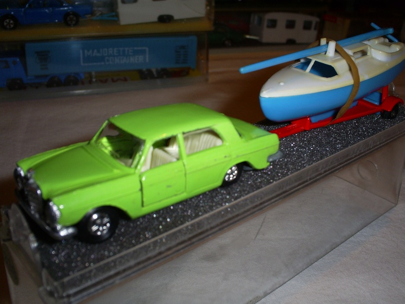 N°338 mercedes 280 SE + voilier S5033347