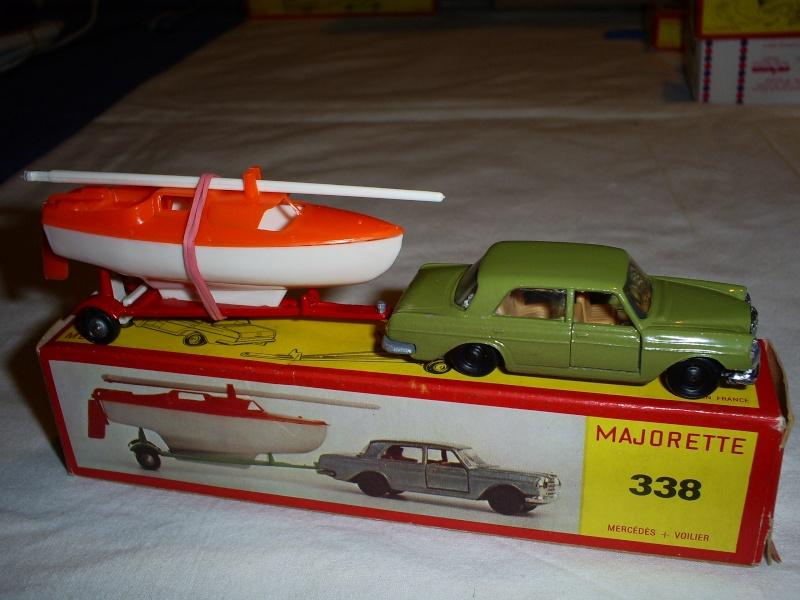 N°338 mercedes 280 SE + voilier S5033406