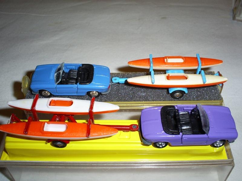 N°331 Peugeot 204 + Canoes S5033446