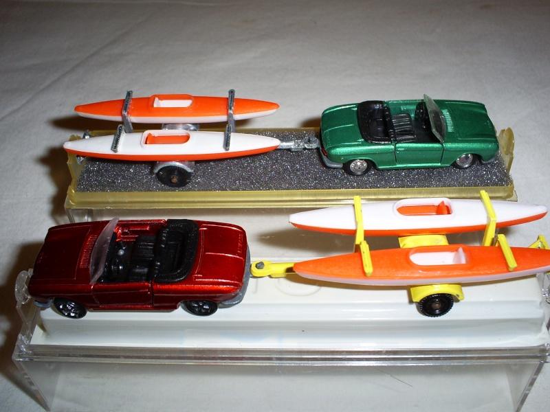 N°331 Peugeot 204 + Canoes S5033448