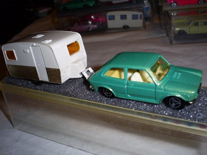 N°315 Fiat 127 + caravane STERCKEMAN LOVELY 400 S5033708