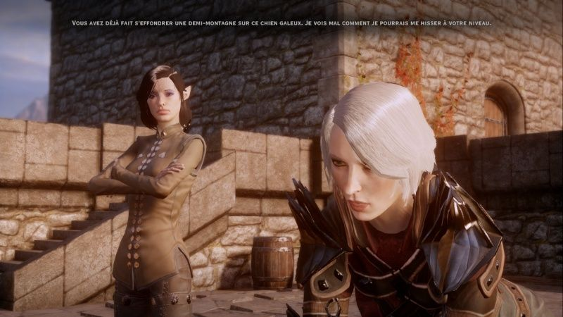 Histoires courtes : Inquisitrice Mithraël Lavellan Screen39